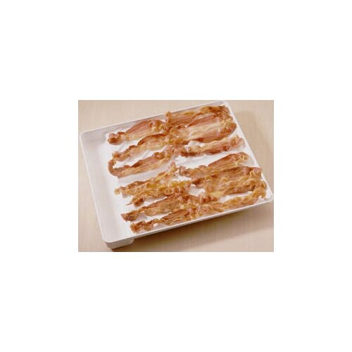 "Nordicware Microwave 12"" Bacon Tray and  Food Defroster"