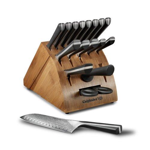 Calphalon Katana Series Cutlery 18 Piece Knife Block Set