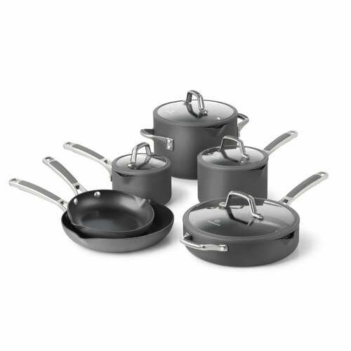 Easy System Nonstick 10-Piece Cookware Set