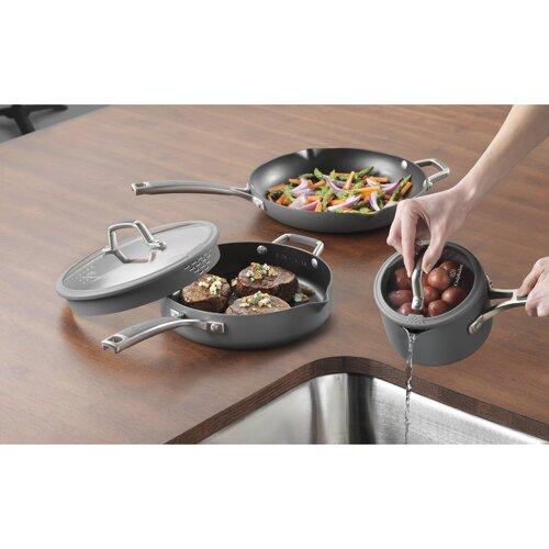 Calphalon Easy System Nonstick 12-Piece Cookware Set