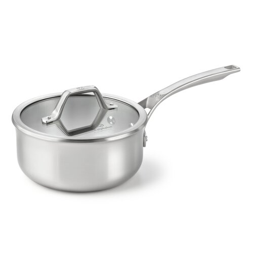 AcCuCore 2.5-qt. Shallow Saucepan with Lid