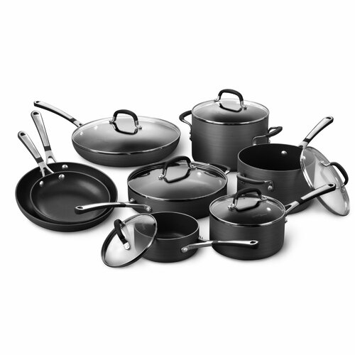Simply Nonstick 14-Piece Cookware Set