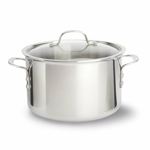 Calphalon Try-Ply Stainless Steel 8-Piece Cookware Set