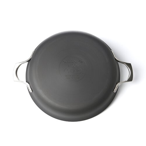 """Calphalon Unison Nonstick 12"""" Everyday Pan with Cover"""