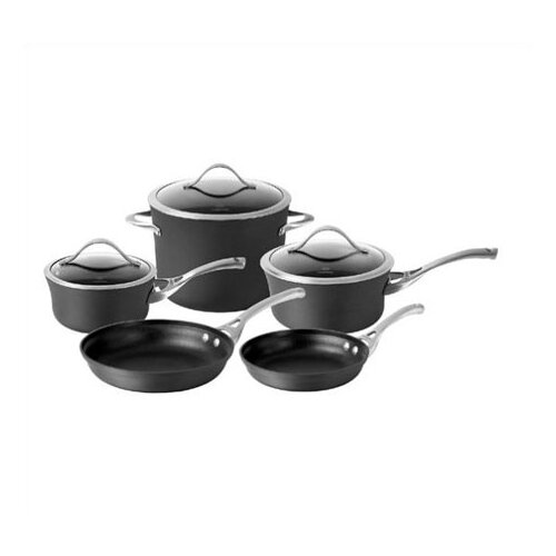 Calphalon Contemporary Hard-Anodized Aluminum 8-Piece Cookware Set