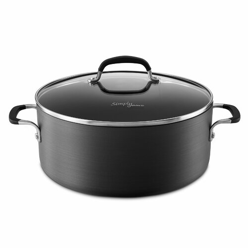 Simply Nonstick 7-qt. Aluminum Round Dutch Oven