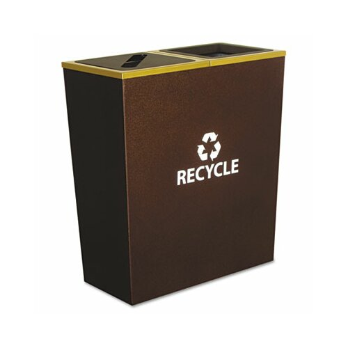 Ex-Cell Metro 36 Gallon Multi Compartment Recycling Bin