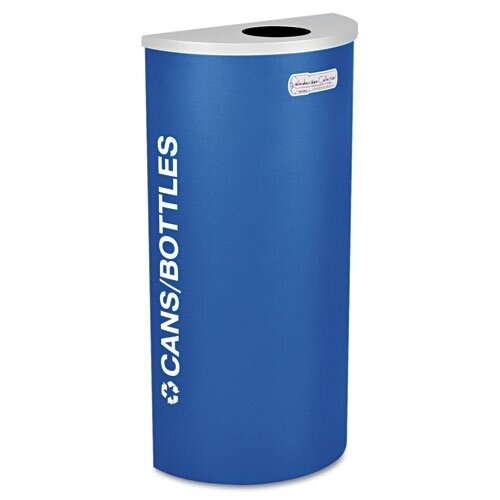 Ex-Cell Kaleidoscope 8 Gallon Industrial Recycling Bin