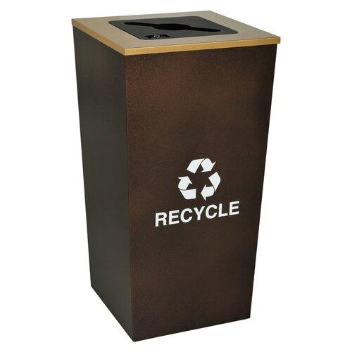 Ex-Cell Metro Indoor 34 Gallon Industrial Recycling Bin