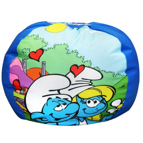 Komfy Kings Sony Smurfs Love Bean Bag Chair