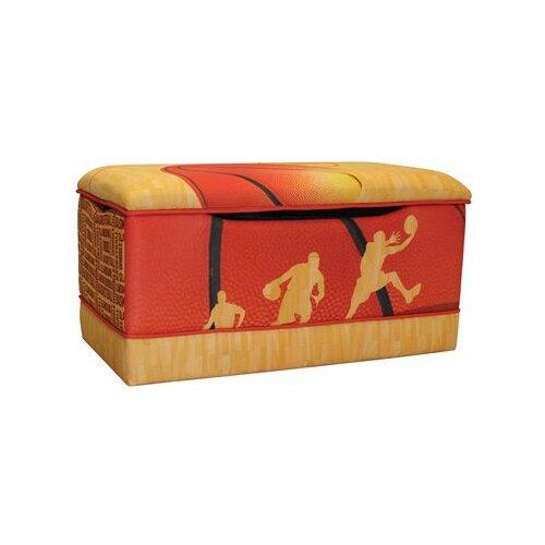Komfy Kings Basketball Slam Dunk Toy Box
