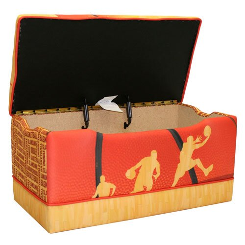 Komfy Kings Basketball Slam Dunk Toy Box