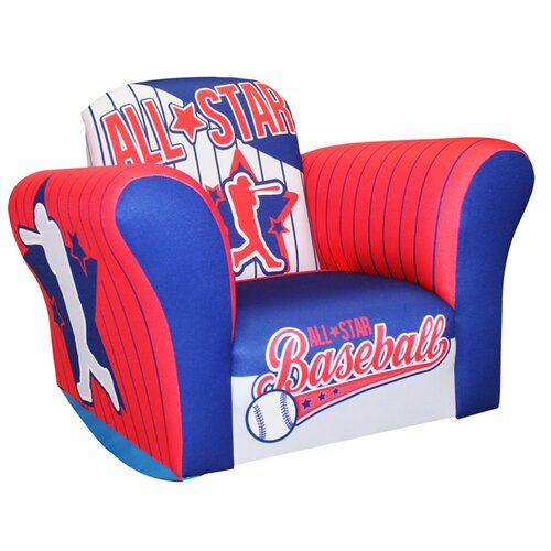 Komfy Kings Baseball All Star Small  Standard Rocker