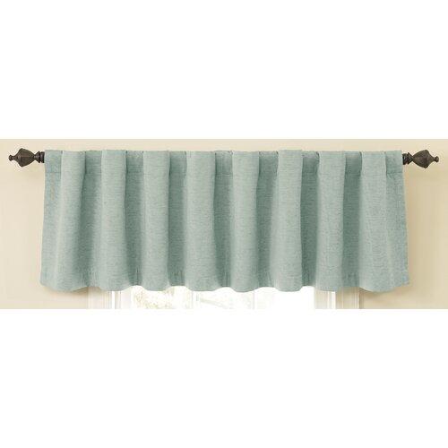 "Sound Asleep Room Darkening Backtab 42"" Window Curtain Valance"