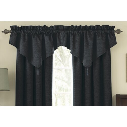 "Sound Asleep Room Darkening Ascot 42"" Curtain Valance"