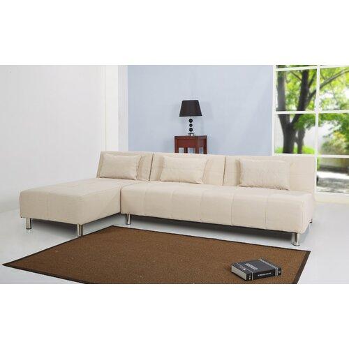 Gold Sparrow Atlanta Convertible Sectional Sofa Bed Reviews Wayfair