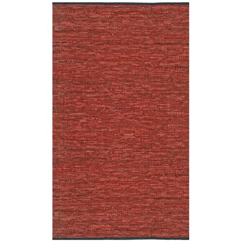 Matador Leather Chindi Copper Rug