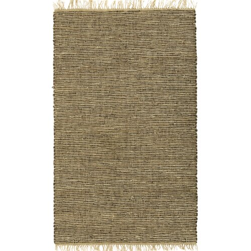 Matador Brown Leather/Natural Hemp Rug