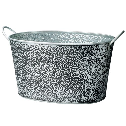 St. Croix Kindwer Antiqued Vine Relief Oval Party Tub