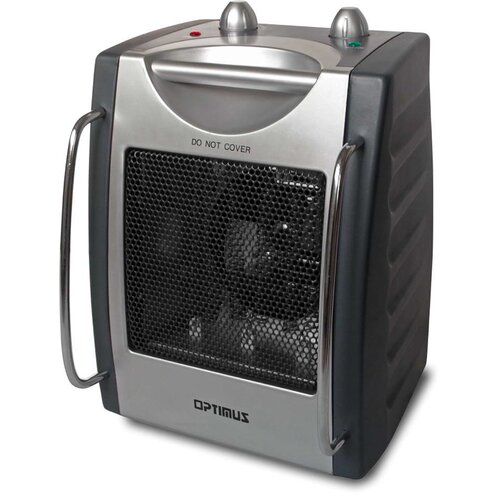 Optimus Portable Fan Forced Utility Space Heater with Thermostat