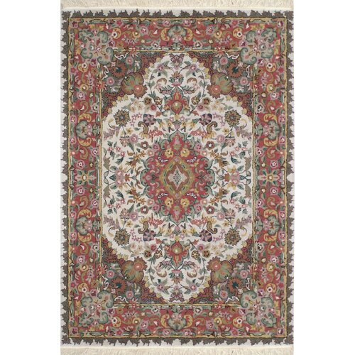 American Home Classic Tabriz Antique Ivory/Rose Rug