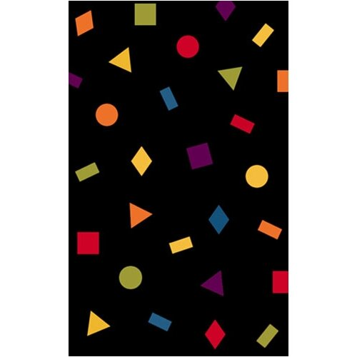 American Home Rug Co. Bright Rug Confetti Novelty Rug