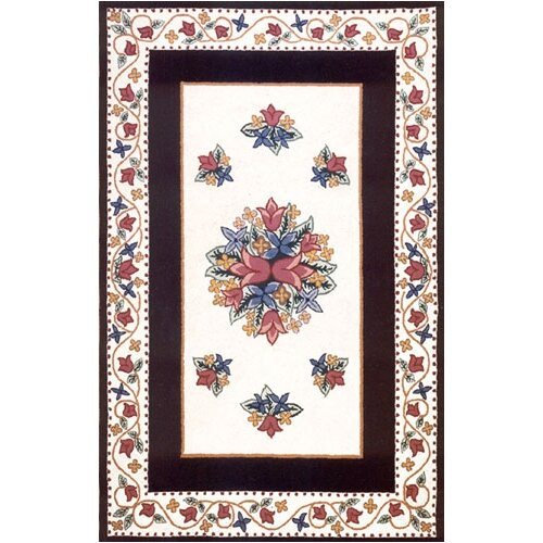 Bucks County Tulip Ivory/Navy Rug