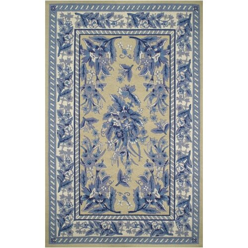 American Home Rug Co. Bucks County Yellow/Blue Sarough Area Rug