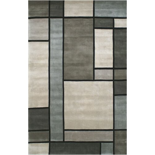 American Home Rug Co. Casual Contemporary Grey/Slate Metro Rug