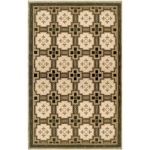 American Home Rug Co. Neo Nepal Gold/Black Empire Rug