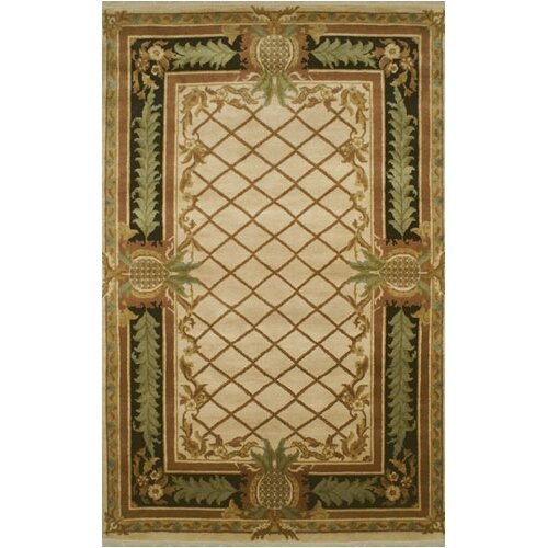 Palm Beach Pineapple Aubusson Novelty Rug