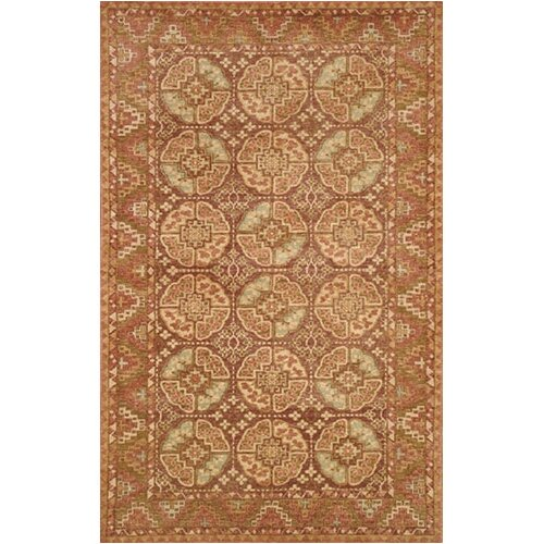 Village Clay Rose/Plum Village Mahal Rug