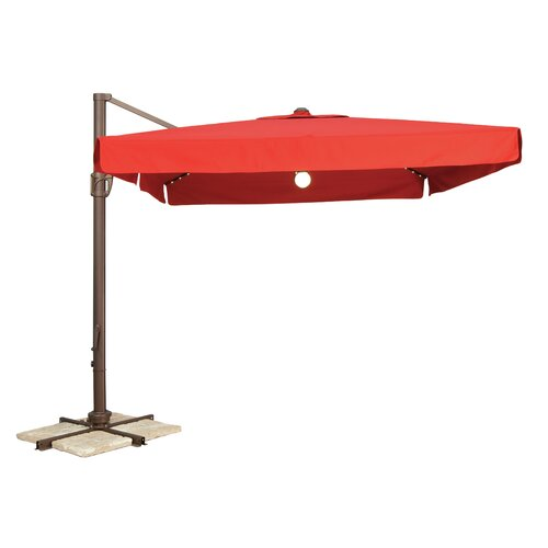 8' Portofino Pro LED Cantilever Umbrella