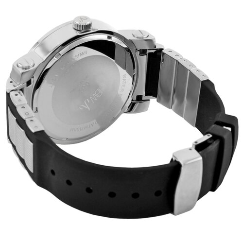 JBW Men's 562 Watch in Black / Silver