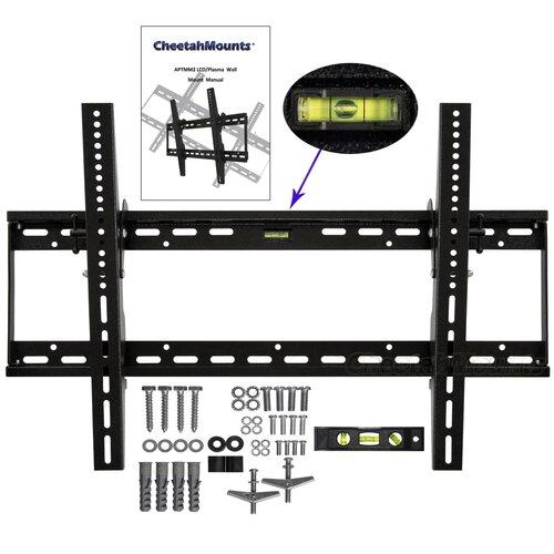 "Cheetah Mounts Tilt Universal Wall Mount for 32"" - 65"" LCD/Plasma"