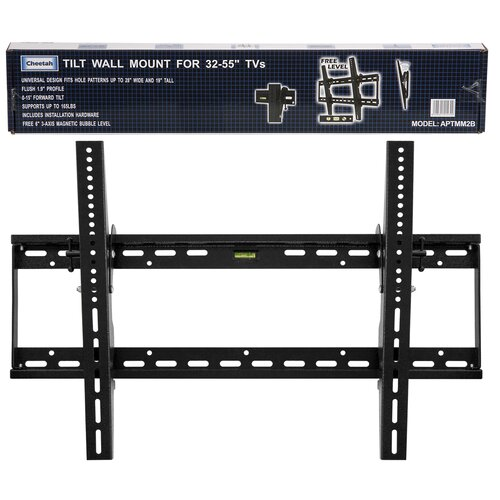 "Cheetah Mounts Tilt Universal Wall Mount for 32"" - 65"" LCD/Plasma"