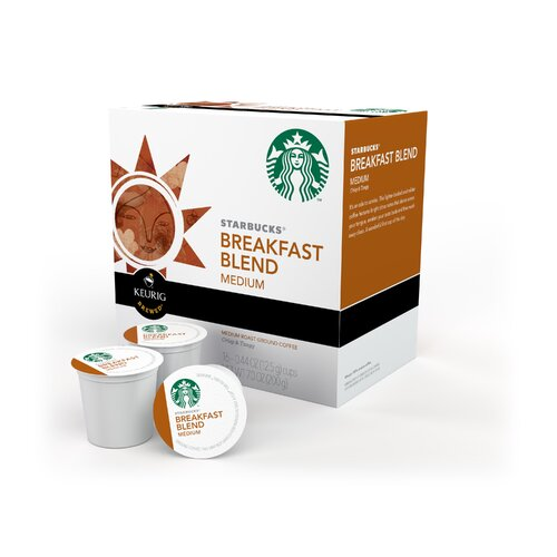 Keurig Starbucks Breakfast Blend Coffee  K-Cups