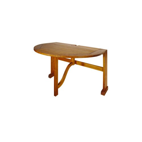 Terrace Mates Bistro Half Oval Dining Table