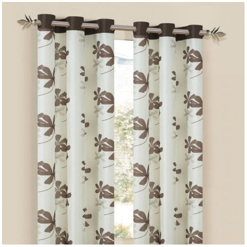 DR International Carley Grommet Curtain Single Panel