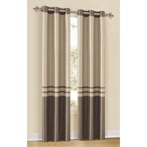 DR International Sabrina Grommet Curtain Single Panel