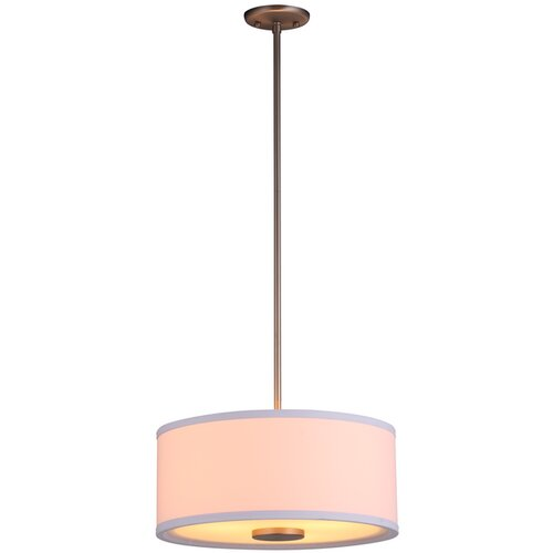 DVI Milan 3 Light Drum Pendant
