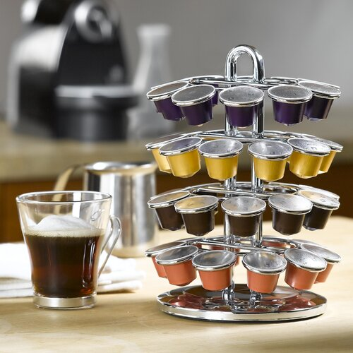 Nifty Home Products 40 Pod Carousel for Nespresso Capsules