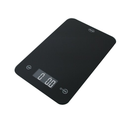 Kitchen Scale with Large Glass Surface and Touch Activated