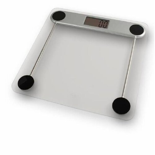 American Weigh Scales Low Profile Glass Top Digital Scale