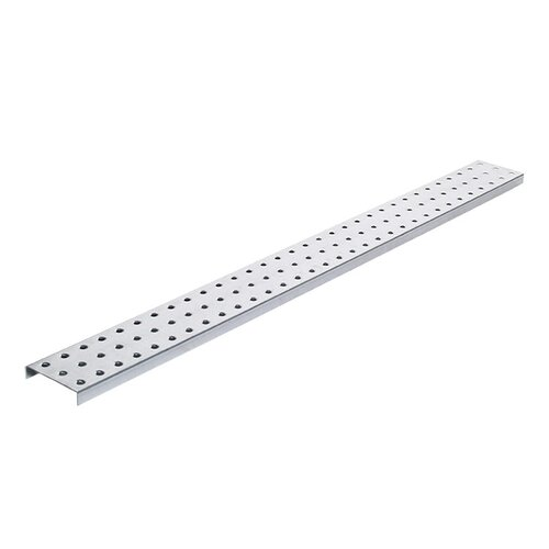 Alligator Board Galvanized Steel Pegboard Strip with Flange