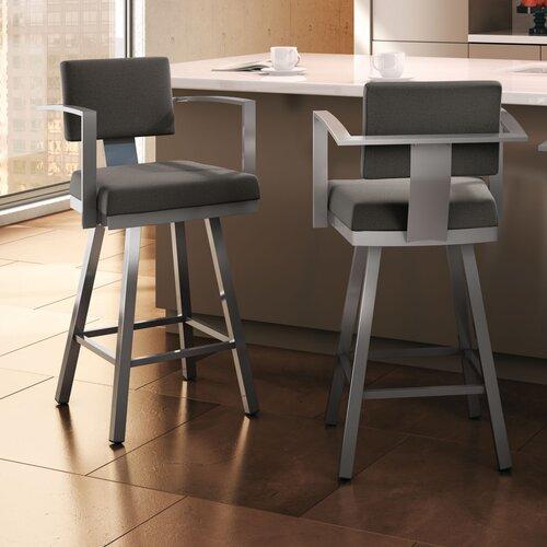 Prime Amisco Urban Style Akers Swivel Stool On Popscreen Creativecarmelina Interior Chair Design Creativecarmelinacom