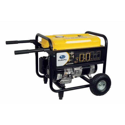 4900 Watt Portable Generator