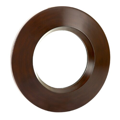 Contemporary Plain Round Mirror