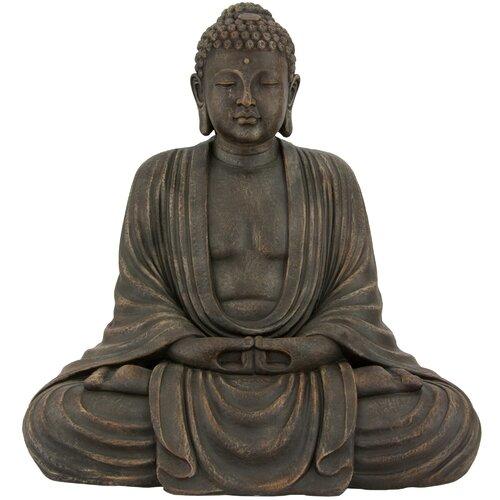 Japanese Sitting Buddha Statue