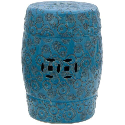 Spherical Design Porcelain Garden Stool